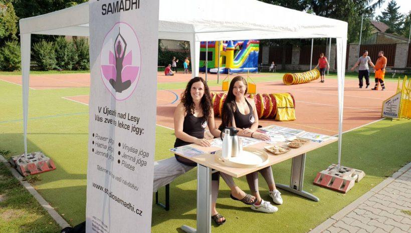 Studio Samádhi na dnech zdraví 2019, aneb zažijte Újezd jinak