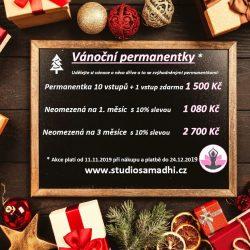 Vánoční permanentky