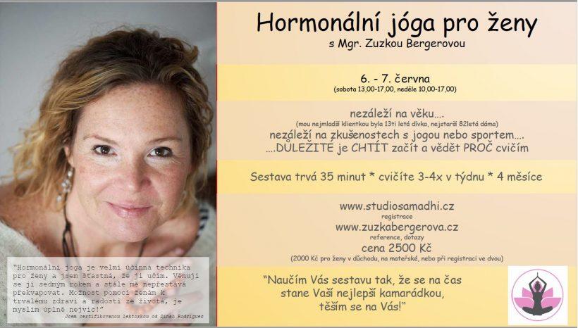 Hormonální jóga pro ženy
